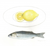sea-bass-and-lemons-Trisha-Hayman